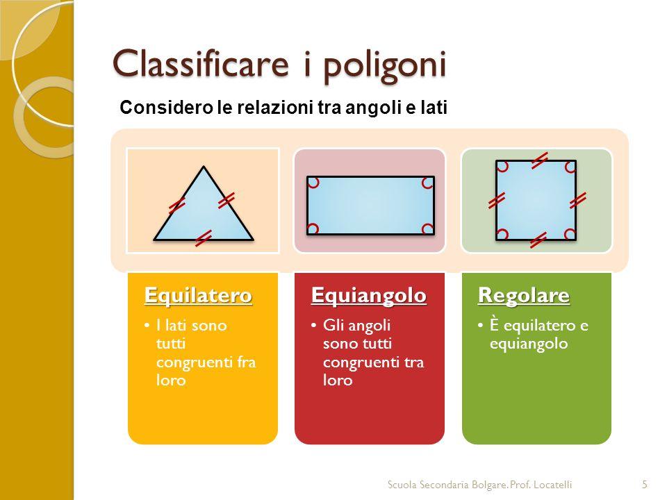 Classificare i poligoni
