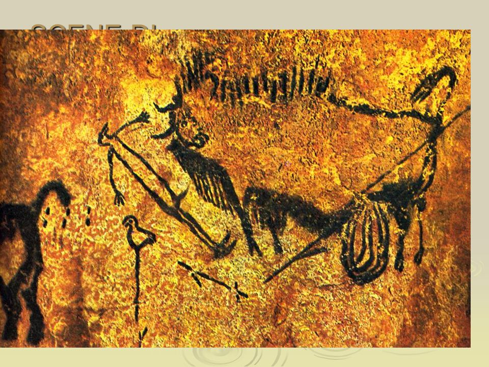 SCENE DI CACCIA C'era il rischio che l'animale catturasse l'uomo.