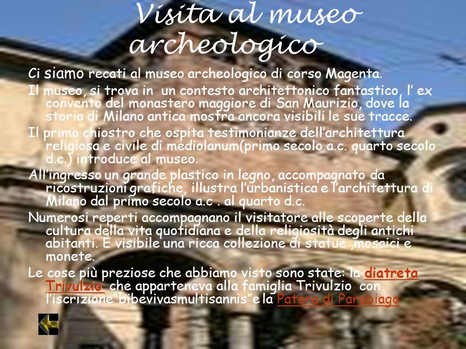Visita al museo archeologico
