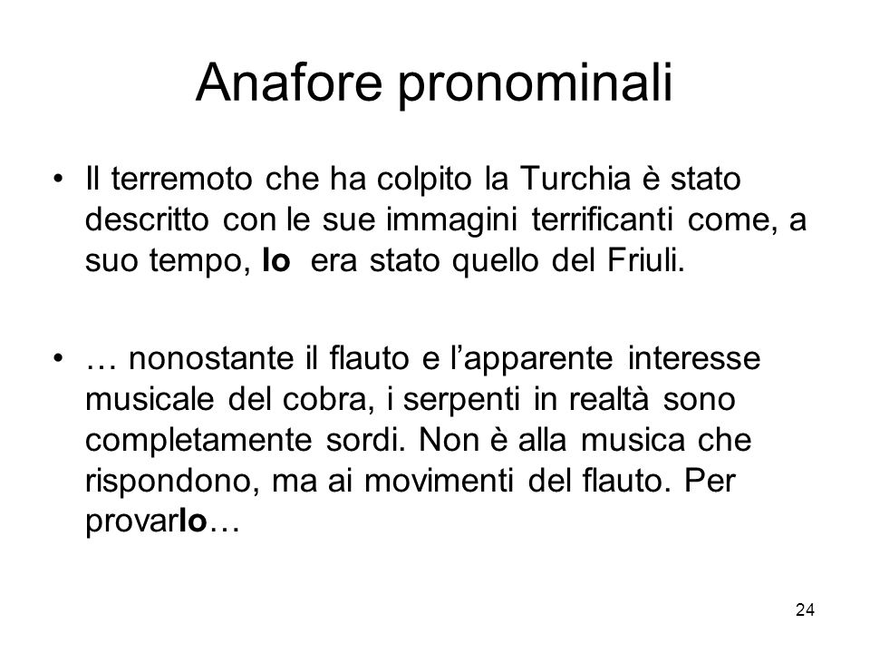 Anafore pronominali