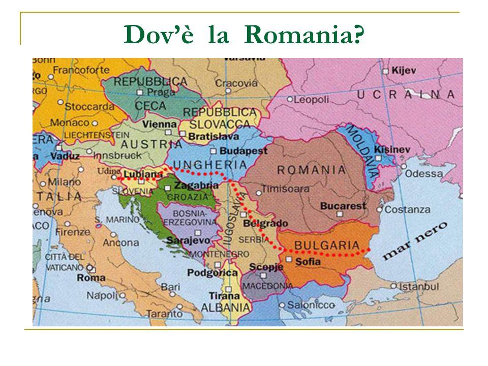 Dov'è la Romania