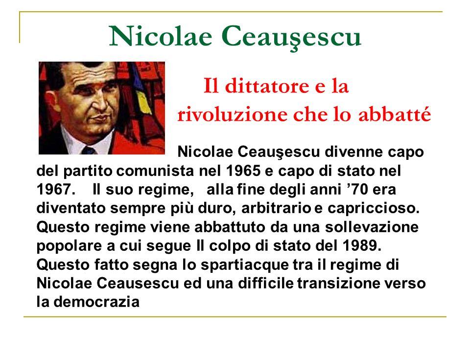 Nicolae Ceauşescu Il dittatore e la rivoluzione che lo abbatté
