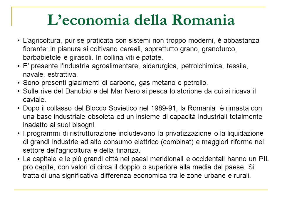 L'economia della Romania