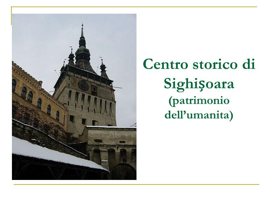 Centro storico di Sighișoara (patrimonio dell'umanita)