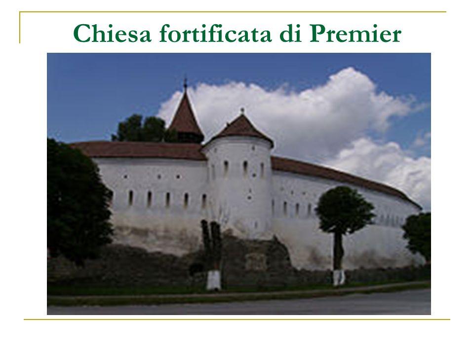 Chiesa fortificata di Premier