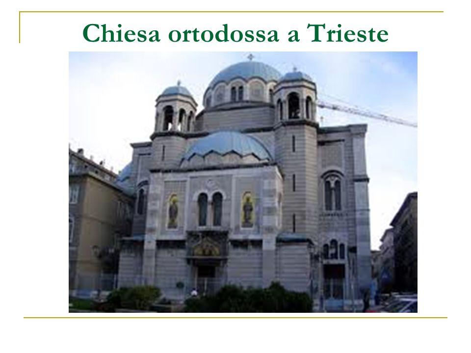 Chiesa ortodossa a Trieste