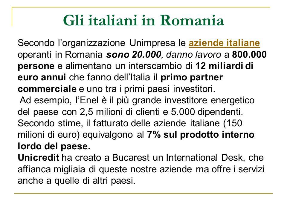 Gli italiani in Romania