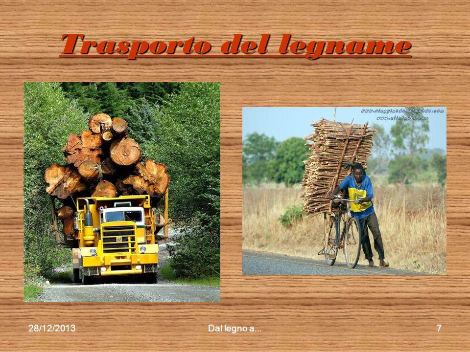 Trasporto del legname 25/03/2017 Dal legno a...