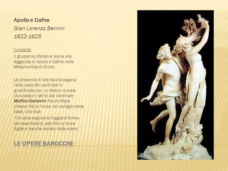 Le opere barocche Apollo e Dafne Gian Lorenzo Bernini 1622-1625