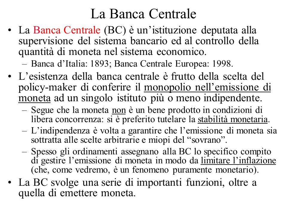 La Banca Centrale