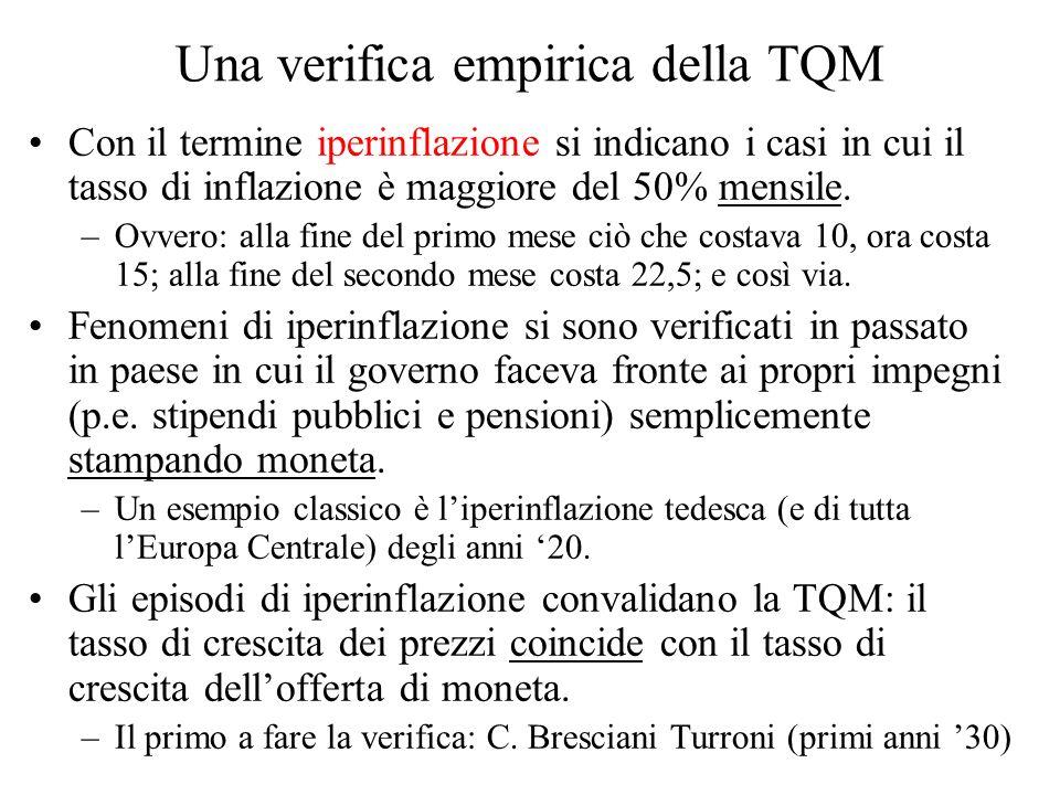 Una verifica empirica della TQM