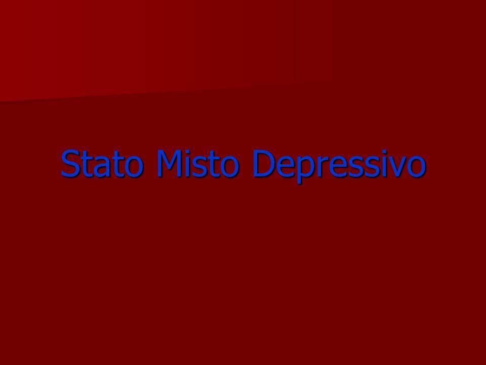 Stato Misto Depressivo
