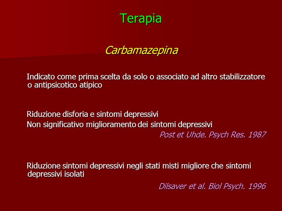 Terapia Carbamazepina