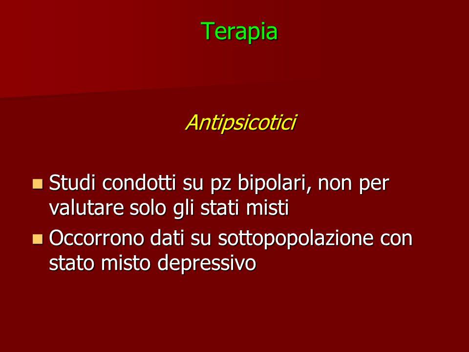 Terapia Antipsicotici