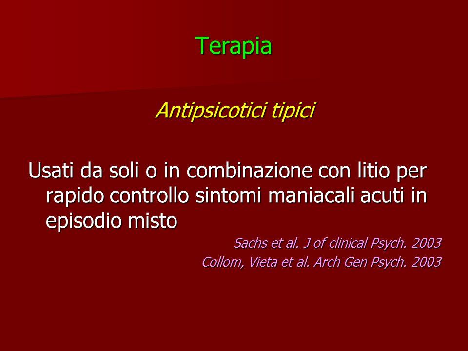 Terapia Antipsicotici tipici