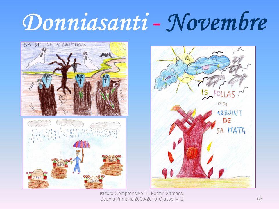 Donniasanti - Novembre