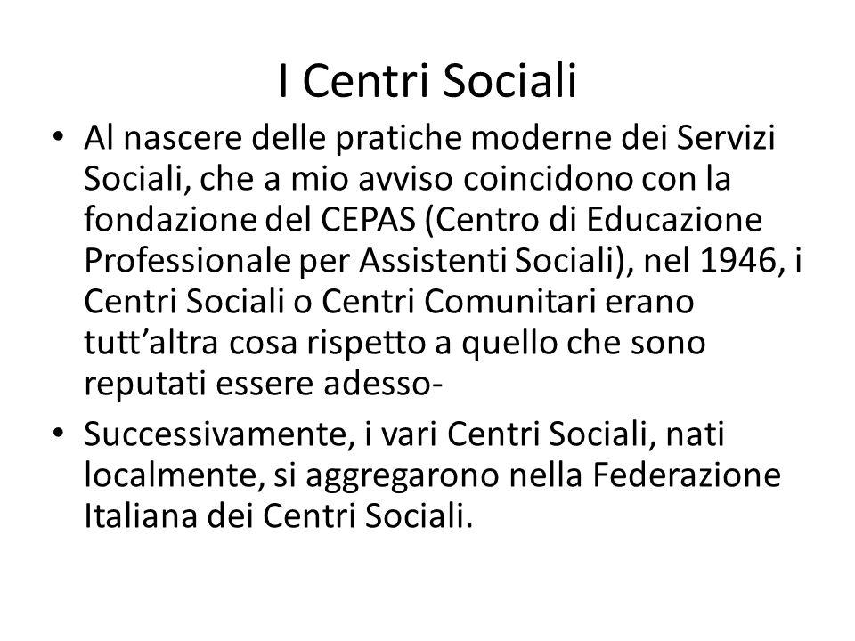 I Centri Sociali