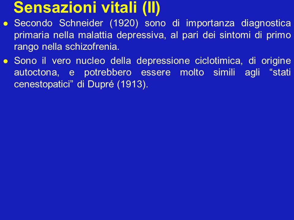 Sensazioni vitali (II)