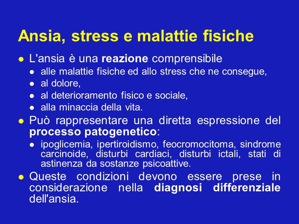 Ansia, stress e malattie fisiche