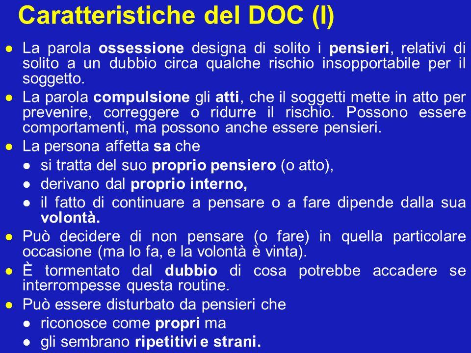 Caratteristiche del DOC (I)