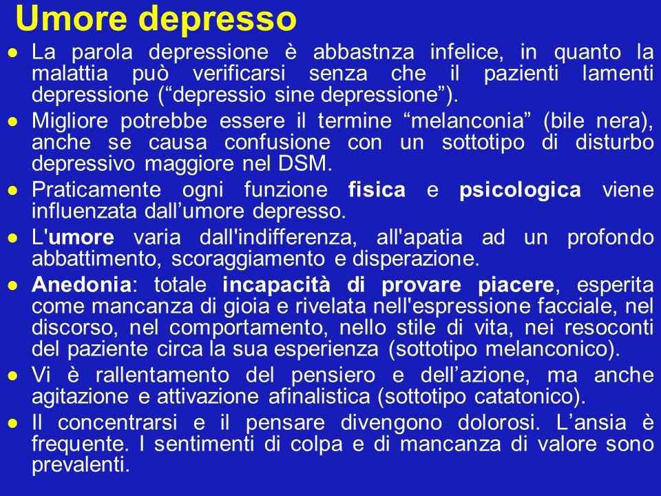 Umore depresso