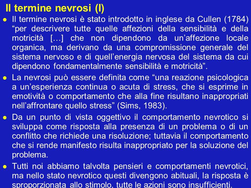 Il termine nevrosi (I)