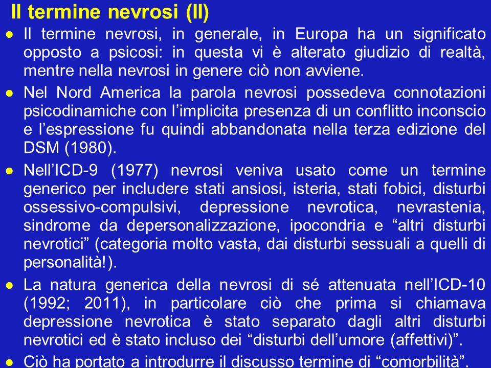 Il termine nevrosi (II)