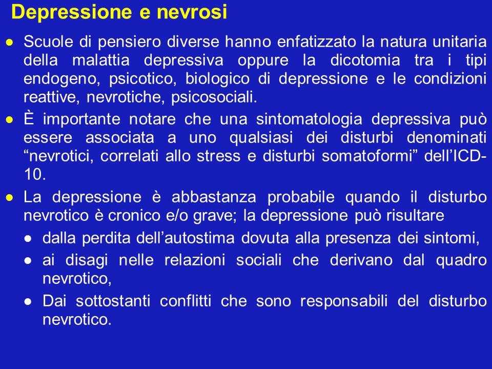 Depressione e nevrosi
