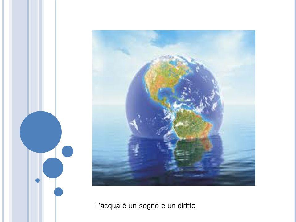 L'acqua è un sogno e un diritto.
