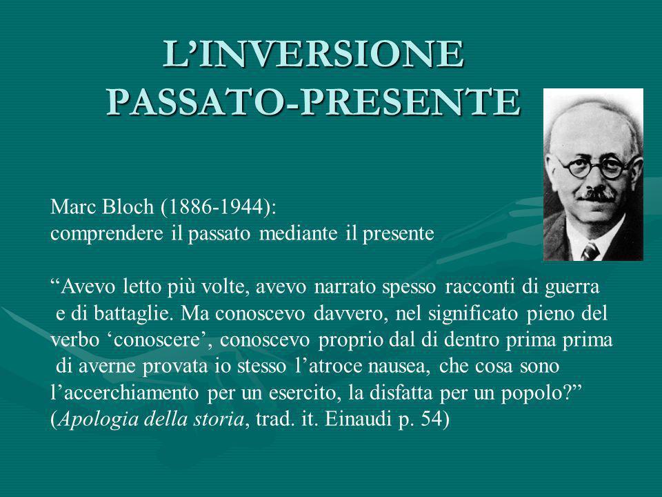 L'INVERSIONE PASSATO-PRESENTE