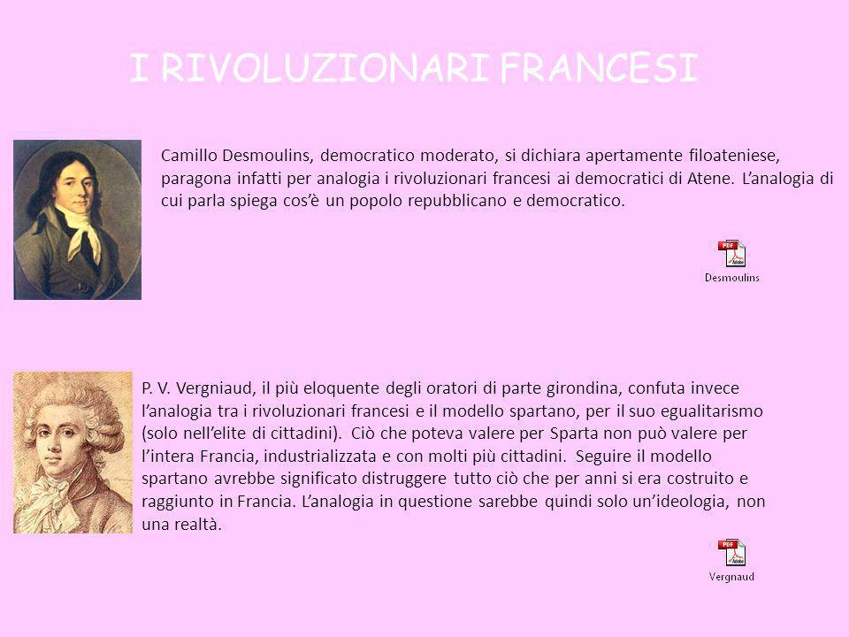 I RIVOLUZIONARI FRANCESI
