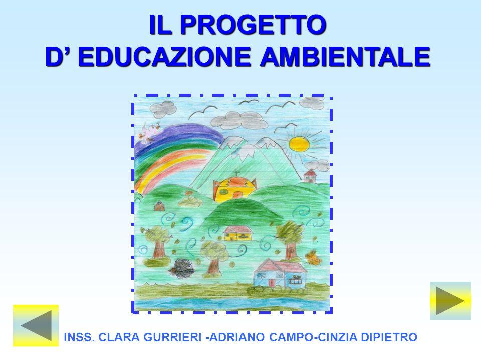IL PROGETTO D' EDUCAZIONE AMBIENTALE