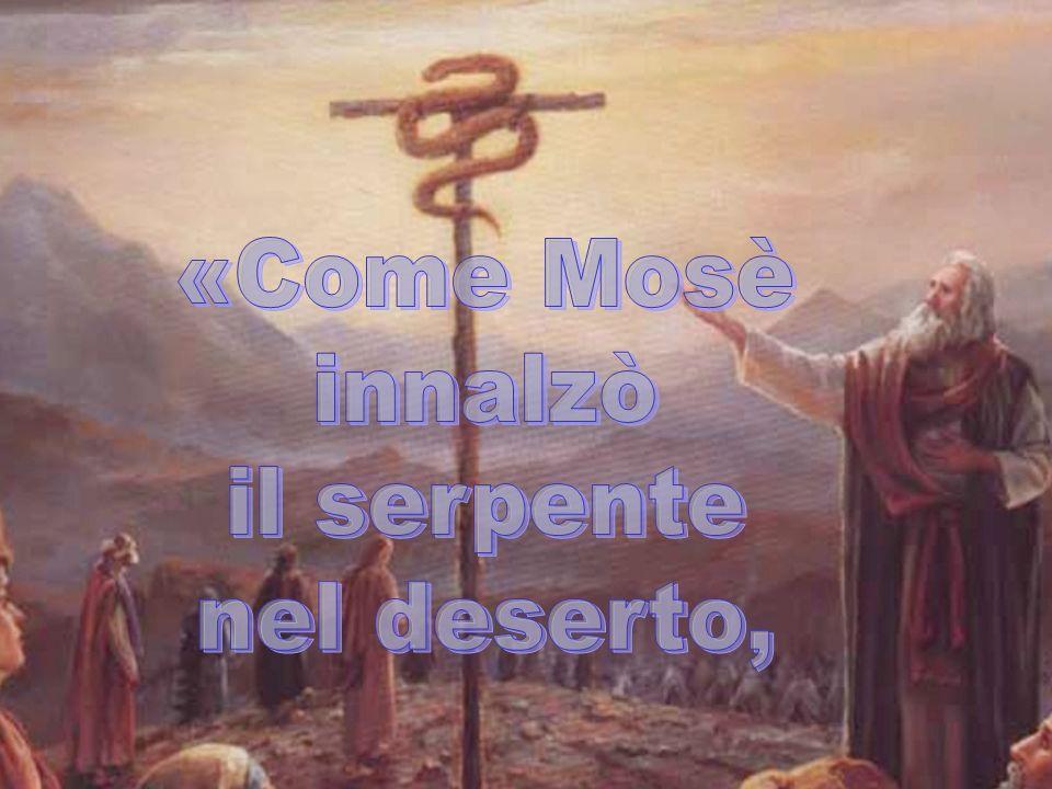 «Come Mosè innalzò il serpente nel deserto,