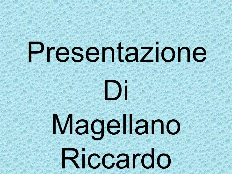 Presentazione Di Magellano Riccardo
