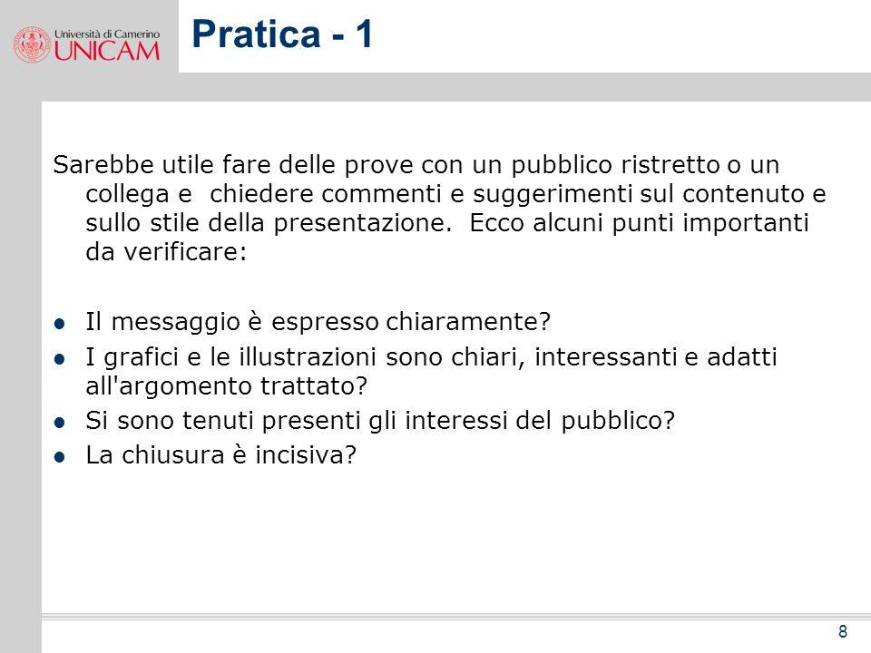 Pratica - 1