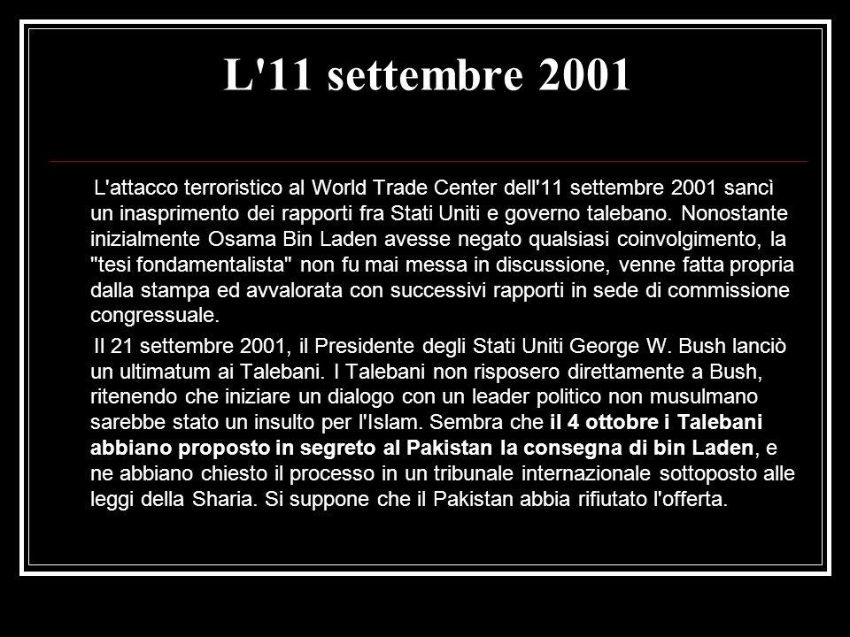 L 11 settembre 2001