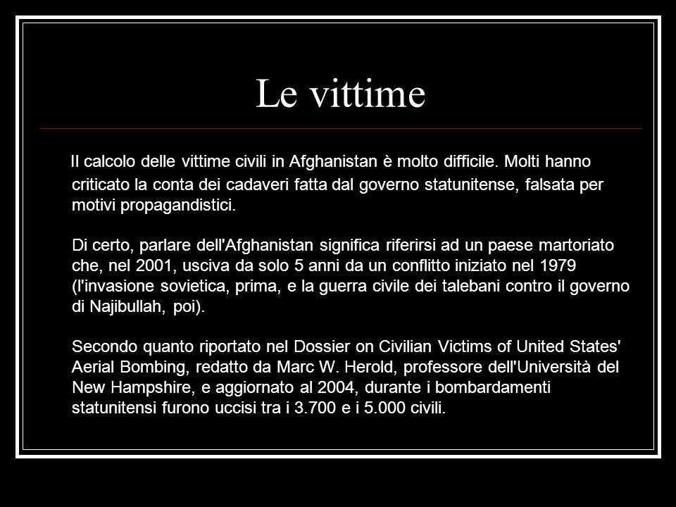 Le vittime