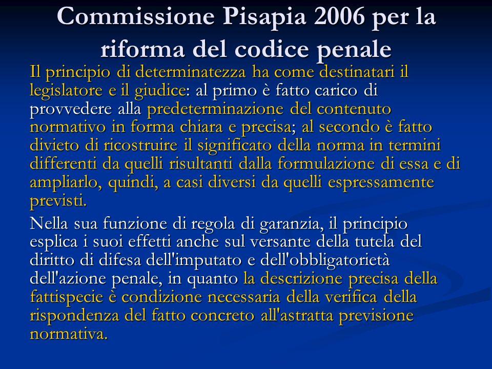 Commissione Pisapia 2006 per la riforma del codice penale