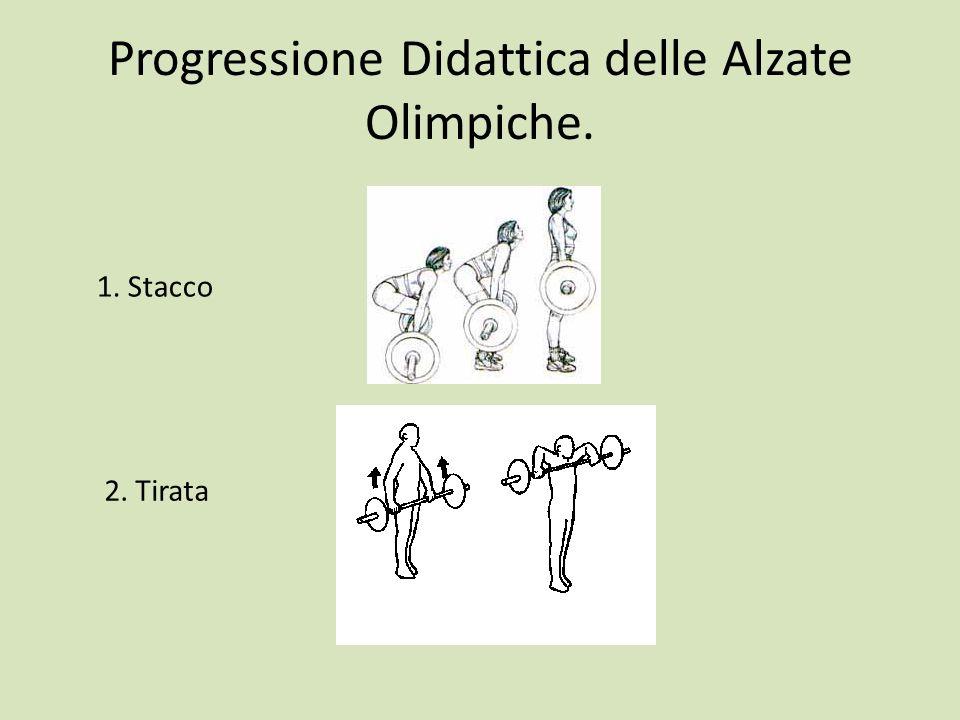 Progressione Didattica delle Alzate Olimpiche.
