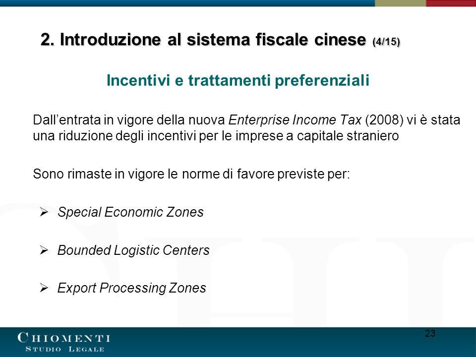 2. Introduzione al sistema fiscale cinese (4/15)