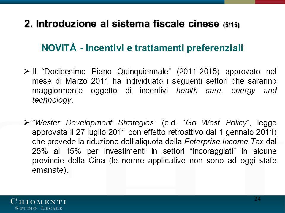 2. Introduzione al sistema fiscale cinese (5/15)