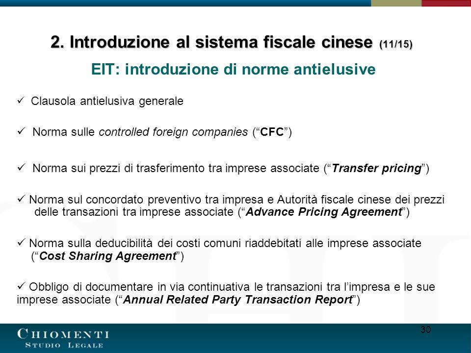 2. Introduzione al sistema fiscale cinese (11/15)