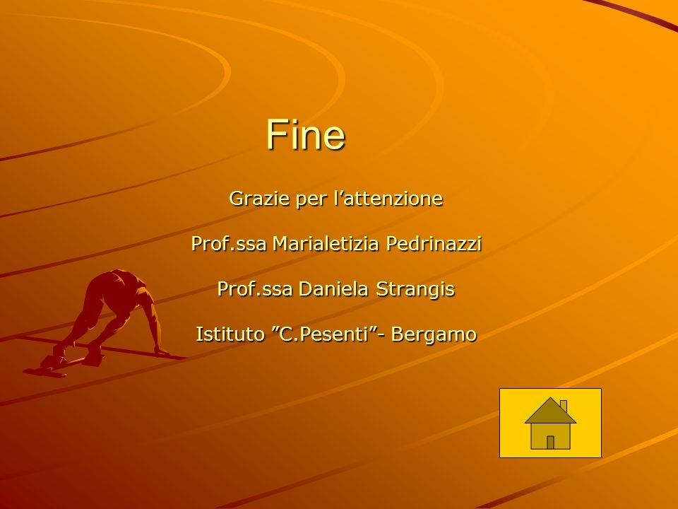 Fine Grazie per l'attenzione Prof.ssa Marialetizia Pedrinazzi