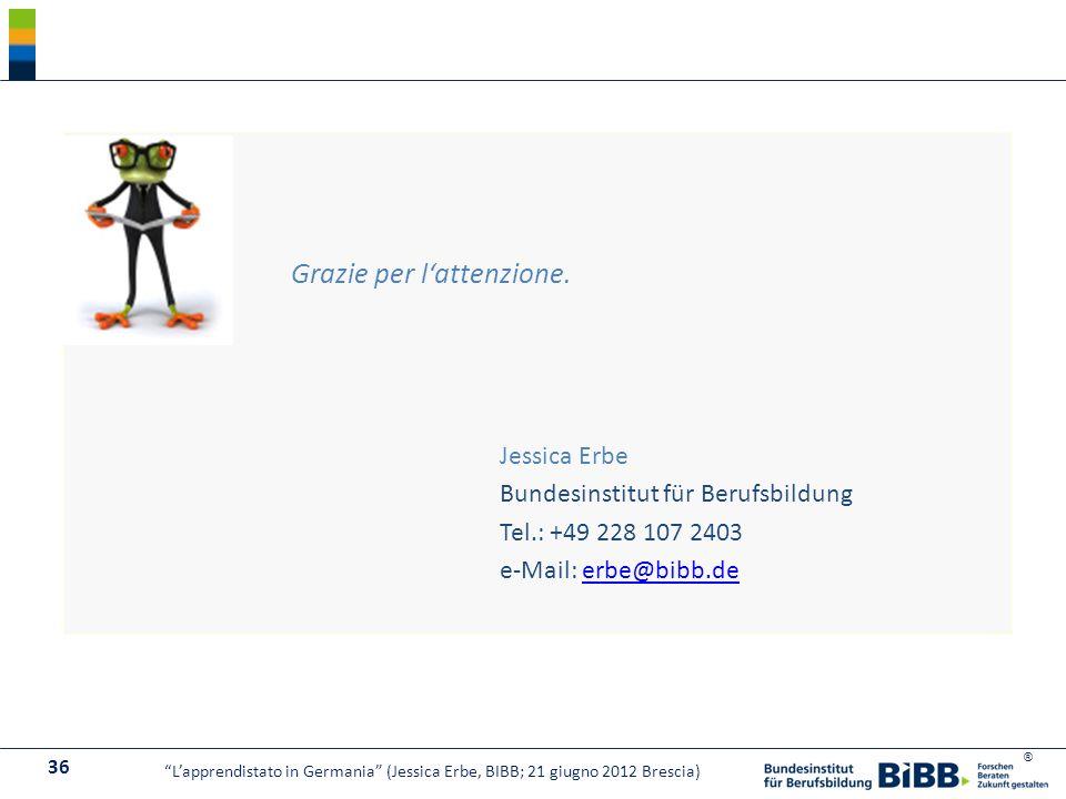 Bundesinstitut für Berufsbildung Tel.: +49 228 107 2403