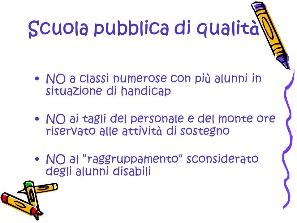 Scuola pubblica di qualità