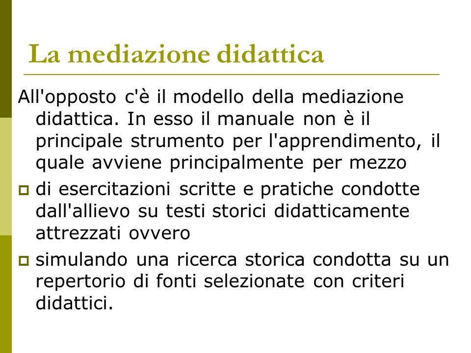 La mediazione didattica