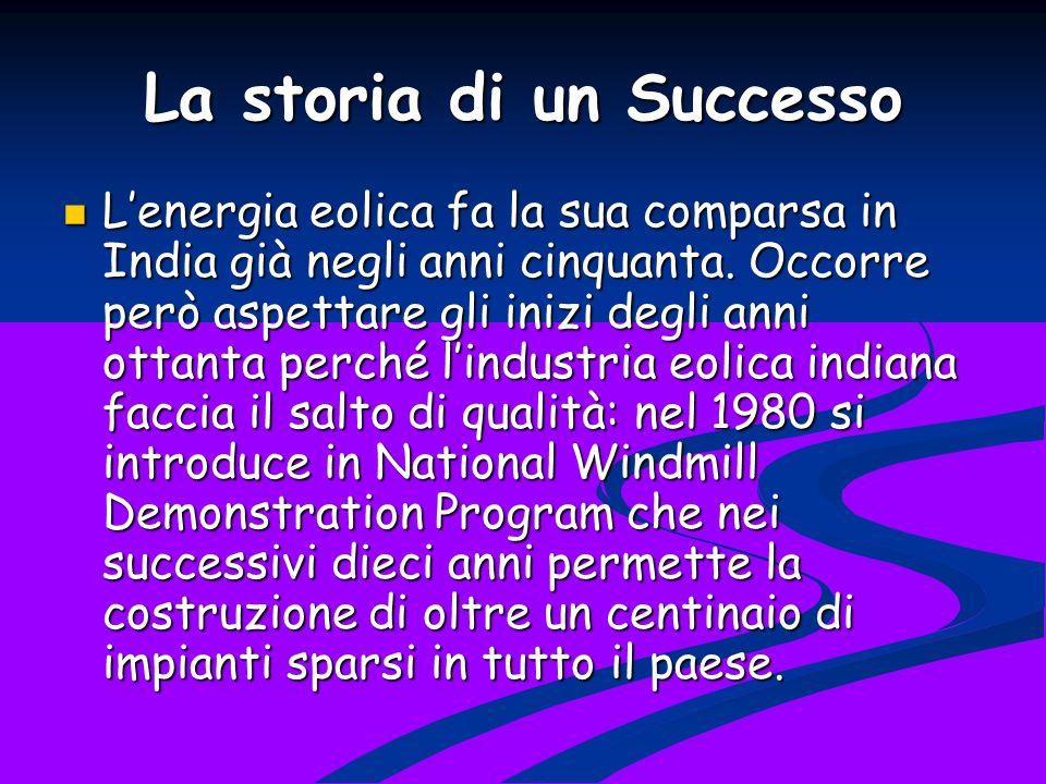 La storia di un Successo