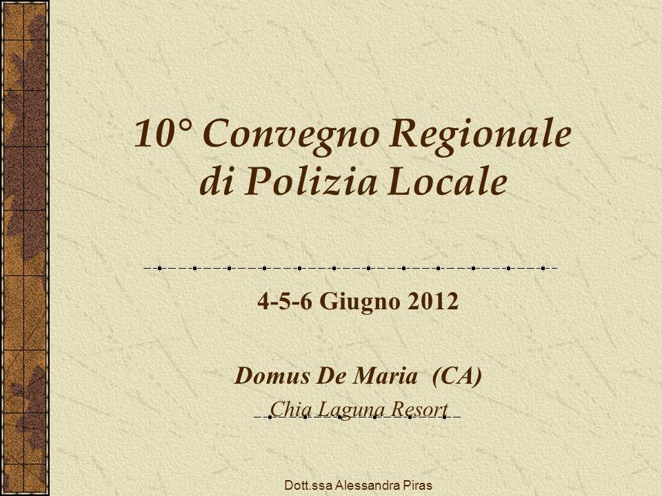 10° Convegno Regionale di Polizia Locale