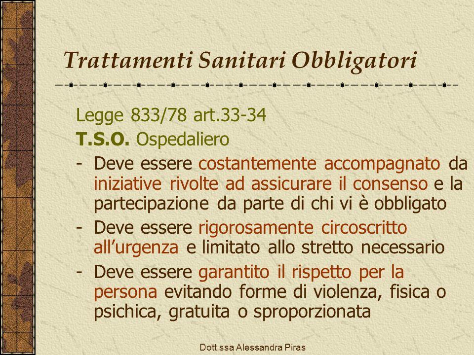 Trattamenti Sanitari Obbligatori