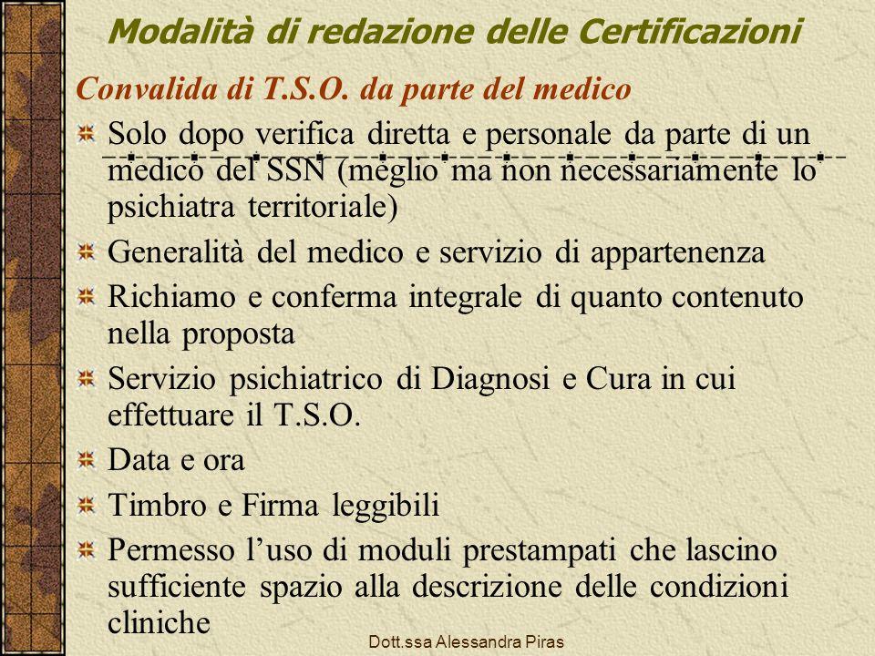 Modalità di redazione delle Certificazioni